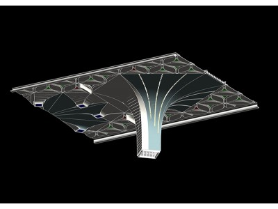 Case Study : 3D Architectural Vault Detailing for Rail Station