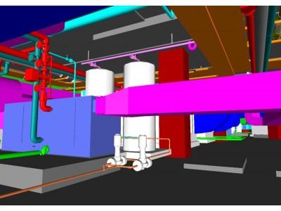 Case Study : Mechanical Plant Room Coordination in Stadium